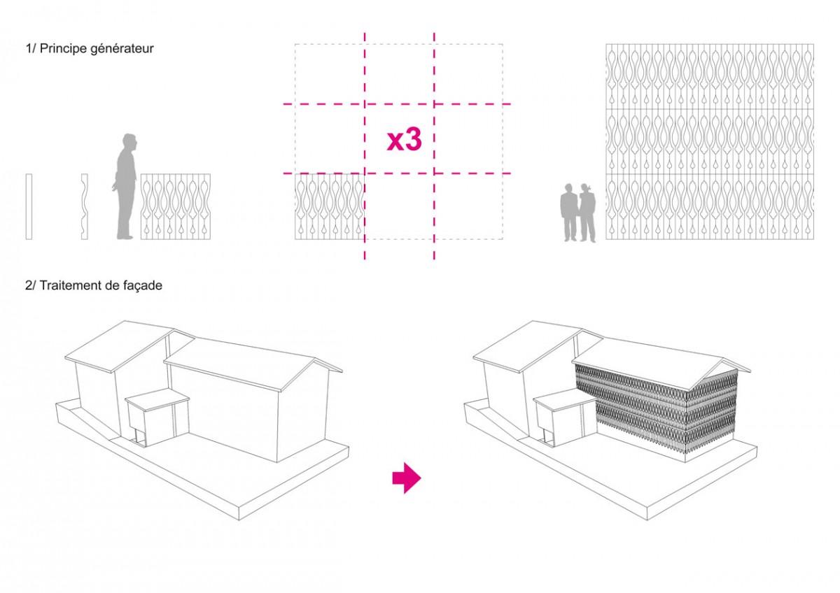 réinterprétation contemporaine architecture montagne