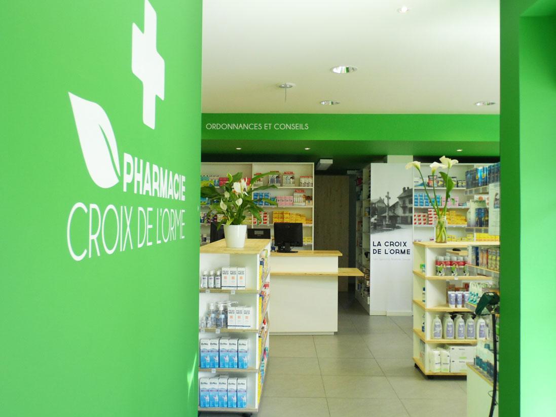 pharmacie croix de l'orme