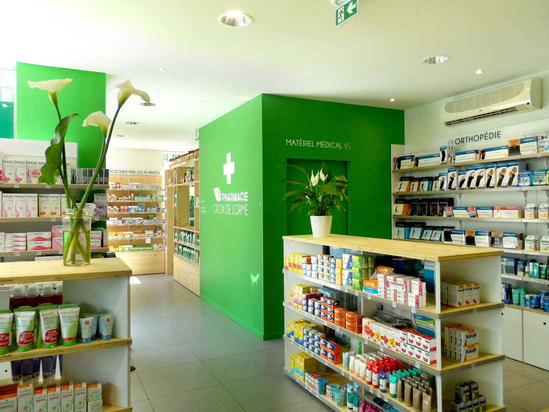 réhabilitation pharmacie