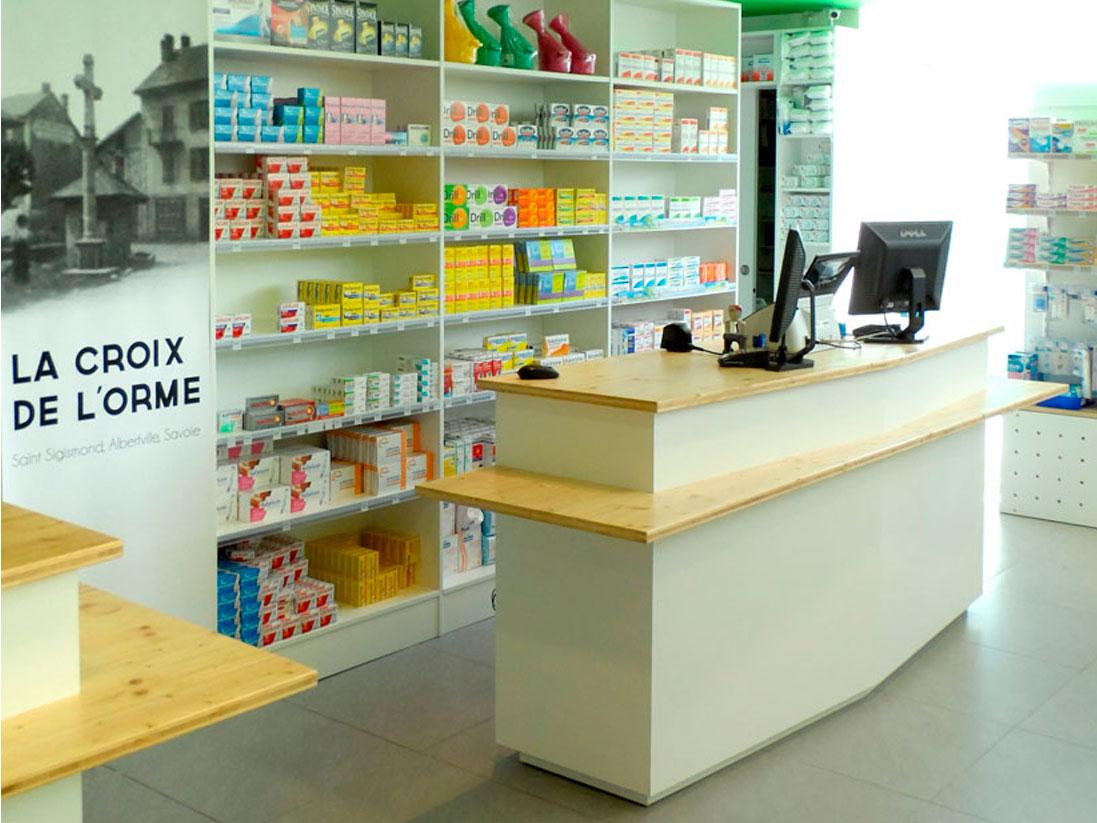 mobilier pharmacie
