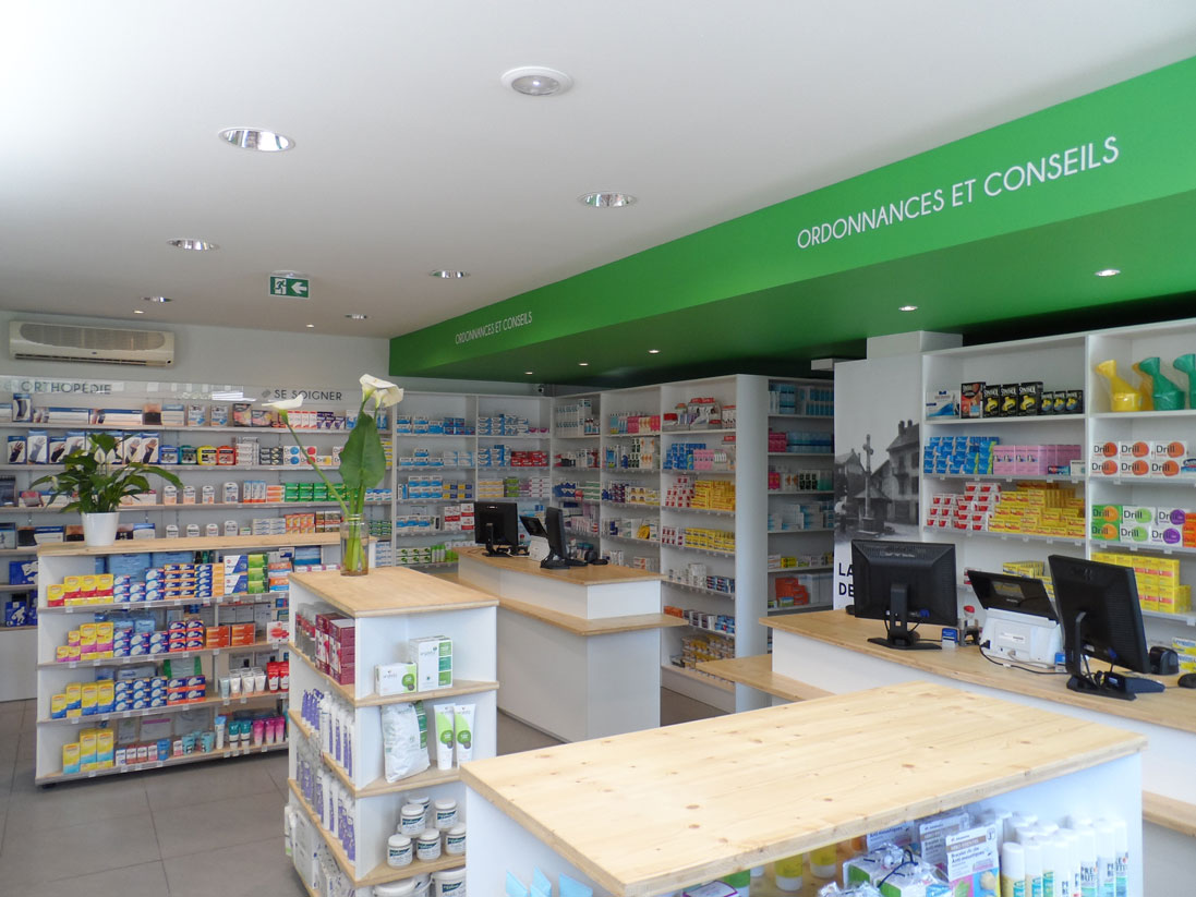 agencement commerce