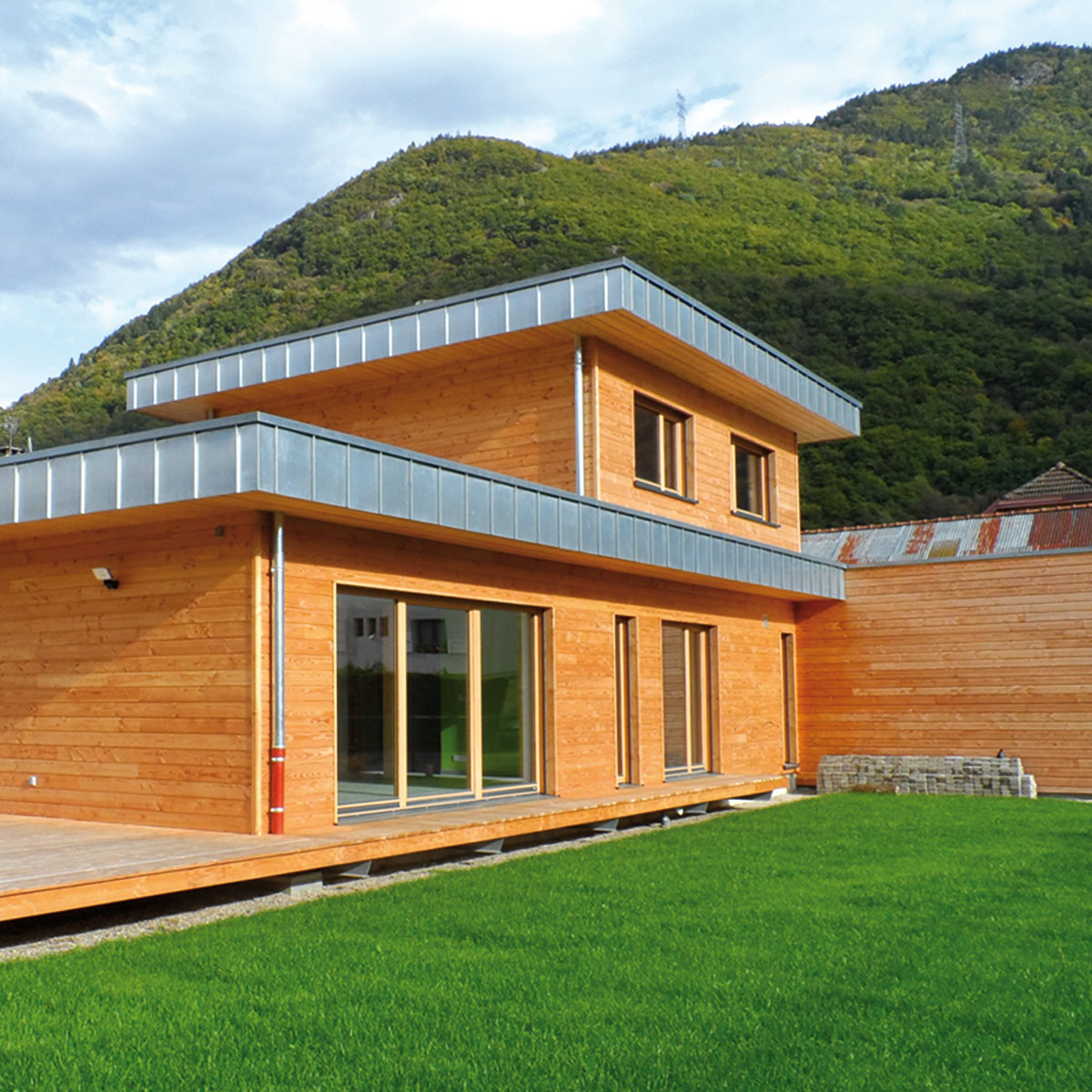 maison écologique savoie